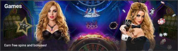 Juegos de casino 1xbit